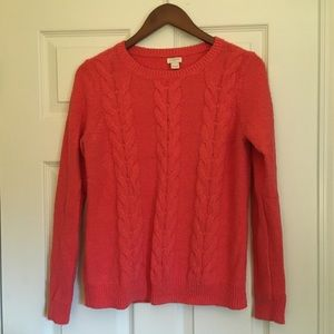 J. Crew Cable Sweater